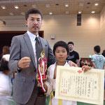 小学4年生上級の部 / Categoria 9 anos avançado 3位 河原崎遼介 / Terceiro colocado Ryosuke Karasawa