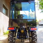 16PS ecopard Traktor 4WD mit Heckhydraulik und Zapfwelle