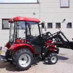 ecopard Traktor eco40-ds mit Frontlader + Heckgewichte