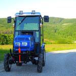 16PS ecopard Kleintraktor mit Frotkraftheber und Winterkabine
