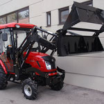 ecopard Traktor eco40-ds mit 4in1-Schaufel als Baggerlader