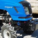ecopard Allradtraktor 4x4 mit Synchron-Wendeschaltung und Differentialsperre