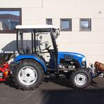 ecopard Kompakttraktor als Winterdienstgerät