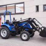ecopard Traktor eco40-ds mit Frontlader + Holzspalter
