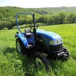 25PS ecopard Allradtraktor 4x4 mit Wendeschaltung und Differentialsperre