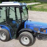 ecopard Kleintraktor 4x4 mit Allradantrieb