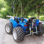 ecopard Allradtraktor mit Heckhydraulik und Zapfwelle
