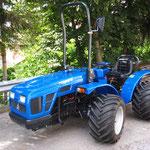 ecopard Traktor E-Serie lieferbar als Frontlenker und Knicklenker