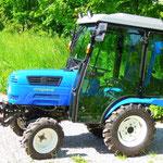 16PS ecopard Kompakttraktor mit geringer Durchfahrtsbreite