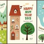 マイナビ 「おしゃれでかわいい年賀状2013」