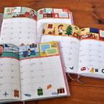 世界文化社 PriPri Diary カレンダー