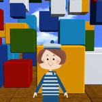 NHK教育テレビ 「学校デジタル羅針盤」 オープニングアニメーション
