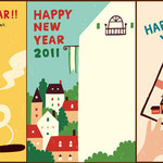 マイコミ 「おしゃれでかわいい年賀状2011」