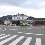 ①JR日光駅