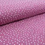 stoffonkel - dots, vintage rose - bio-jersey