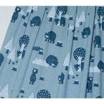 lillestoff - bears, meliert - bio-jersey