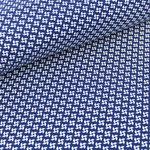 stoffonkel - pinwheels, marine - bio-jersey