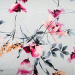 stoffonkel - hibiskus, wasserblau - tencel-jersey