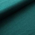 stoffonkel - rippenmuster, smaragd - bio-kuscheljacquard