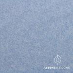 lebenskleidung - hellblau, meliert - bio-fleece