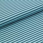 stoffonkel - streifen hellblau/dunkelblau - bio-jersey