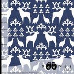 paapii - reindeer, blueberry - bio-sommersweat