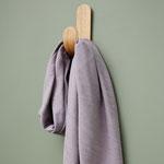 Meetmilk - hoya jacquard linen blend, purple haze
