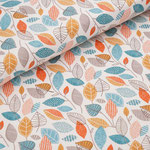 stoffonkel - autumn leaves - bio-jersey