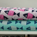 hamburger liebe - go fishing - bio-jacquard