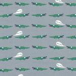 c.pauli - krokodile, grau - bio-jersey