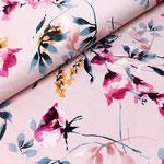 stoffonkel - hibiskus - bio-jersey