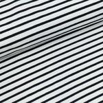 stoffonkel - streifen weiss/schwarz - bio-jersey