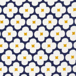 cloud9 - floret, dark navy - bio-cord