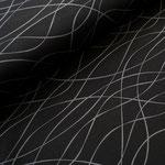 stoffonkel - mystripes, tiefschwarz - bio-jersey