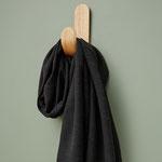 Meetmilk - hoya jacquard linen blend, black