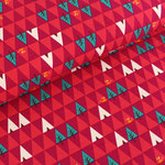 stoffonkel - triangle tipi, rot - bio-jersey