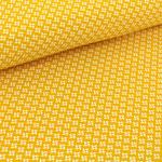 stoffonkel - pinwheels, senf - bio-jersey