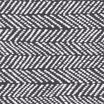 cloud9 - herringbone, black - bio-canvas