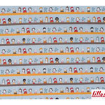lillestoff - girls and friends, buntpastell - bio-jersey