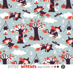 lillestoff - little witches - bio-jersey