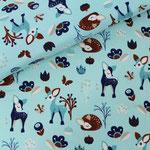 stoffonkel - fritzi kitzi, blau - bio-jersey