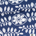paapii - fleur, blueberry - bio-jersey