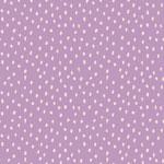 monaluna - dots, lavender - bio-popeline