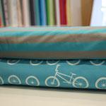 NOSH - BMX, blau und Streifen blau/grau - bio-jersey