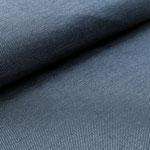 stoffonkel - strick de-luxe, blau - bio-jersey