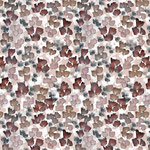 lillestoff - katalinas blumen, rost - bio-jersey