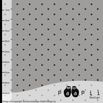 paapii - grau mit dreiecke - bio-sommersweat