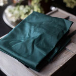 mind the maker - dry waxed organic cotton, dark green