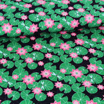 stoffonkel - waterlily - bio-jersey