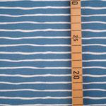 stoffonkel - good vibes, beach house blue - bio-jersey